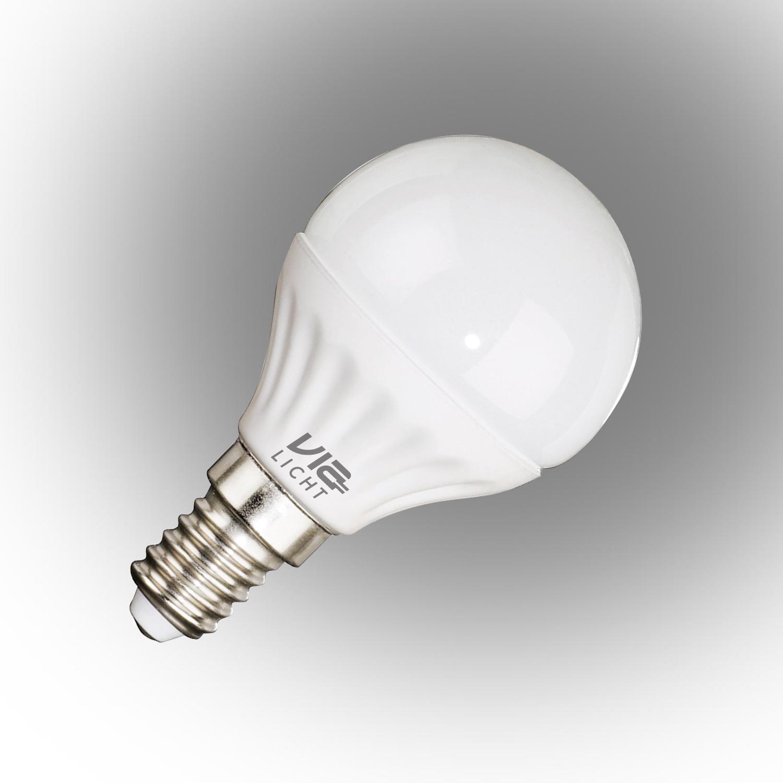 Vialicht Led Damla Ampul E14 3W (25W) 210lm Sarı Işık