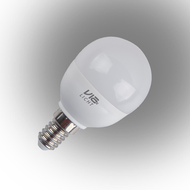 Vialicht Led Damla Ampul E14 5,5W (40W) 470lm Sarı Işık Dim Edilebilir