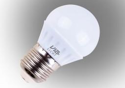 Vialicht Led Damla Ampul E27 3W (25W) 250lm Sarı Işık