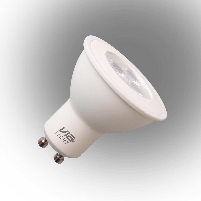 Vialicht Led Spot GU10 Ampul 5W (40W) 345 Lümen Sarı Işık Dim Edilebilir