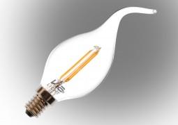 Vialicht-2W(20W)-BA35-COG-Led-Filament-Kıvrık-Mum-Ampul-E14-210lmn-270°-2700K