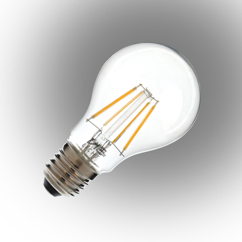 Vialicht 4W(40W) A60-COG Led Filament Ampul E27 430lm 270° 2700K